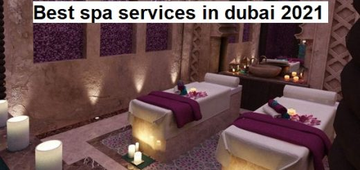 Best spa services in dubai 2021