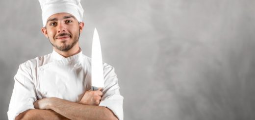 Tip for chef knife
