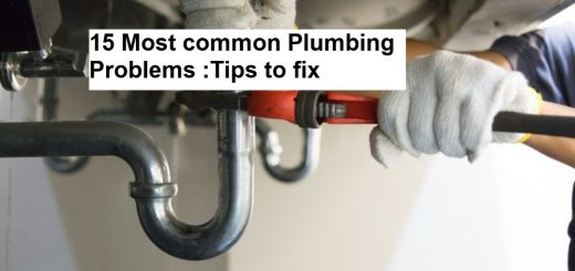15 Most common Plumbing Problems